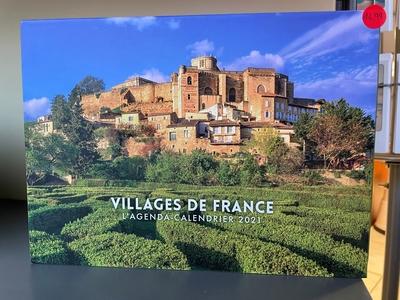 L'Agenda-calendrier Villages de France 2021