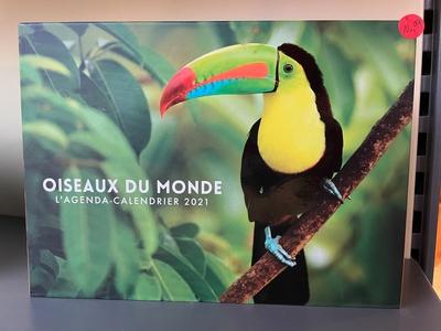 L'Agenda-calendrier Oiseaux du monde 2021