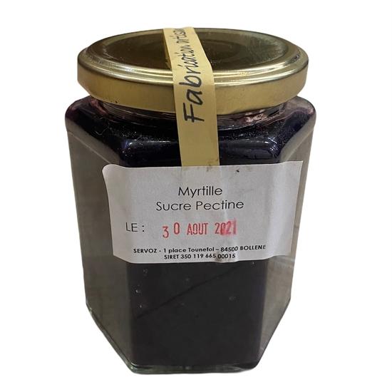 CONFITURE DE MYRTILLE MAISON