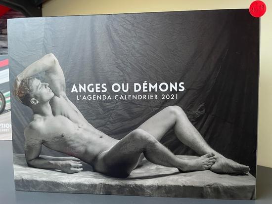 L'Agenda-calendrier Anges ou démons 2021