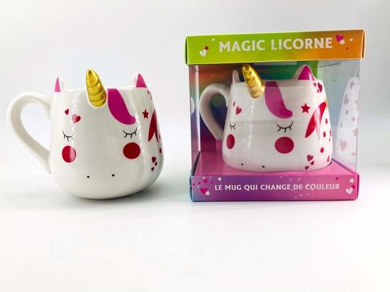 Coffret Mug magic Licorne NED