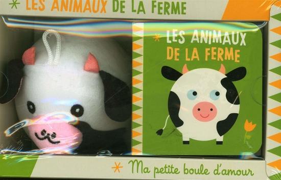 Les animaux de la ferme : Avec 1 peluche