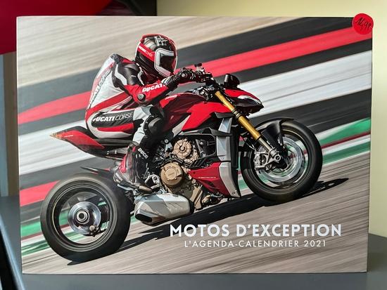 L'Agenda-calendrier Motos d'exception 2021