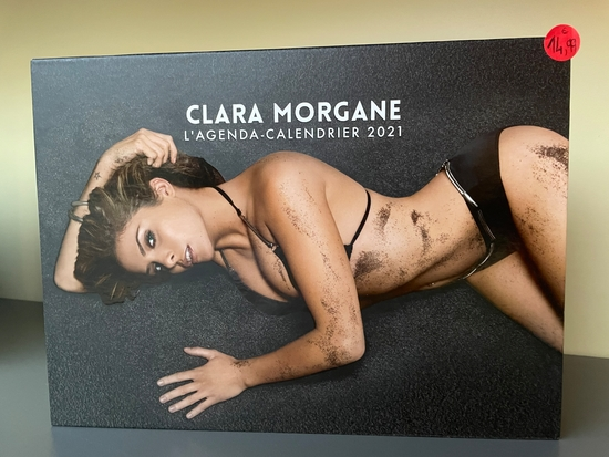 L'Agenda-calendrier Clara Morgane 2021
