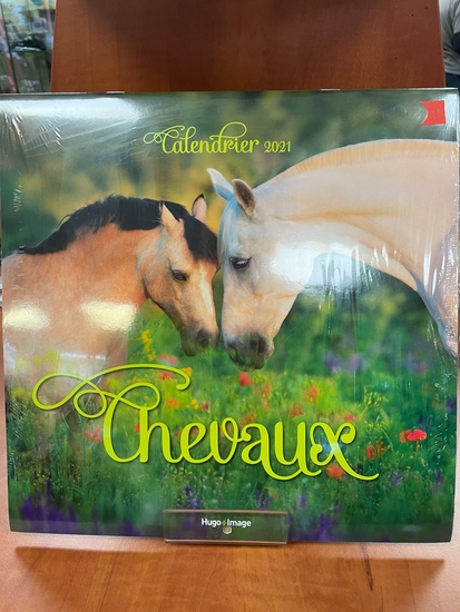 Calendrier mural Chevaux 2021