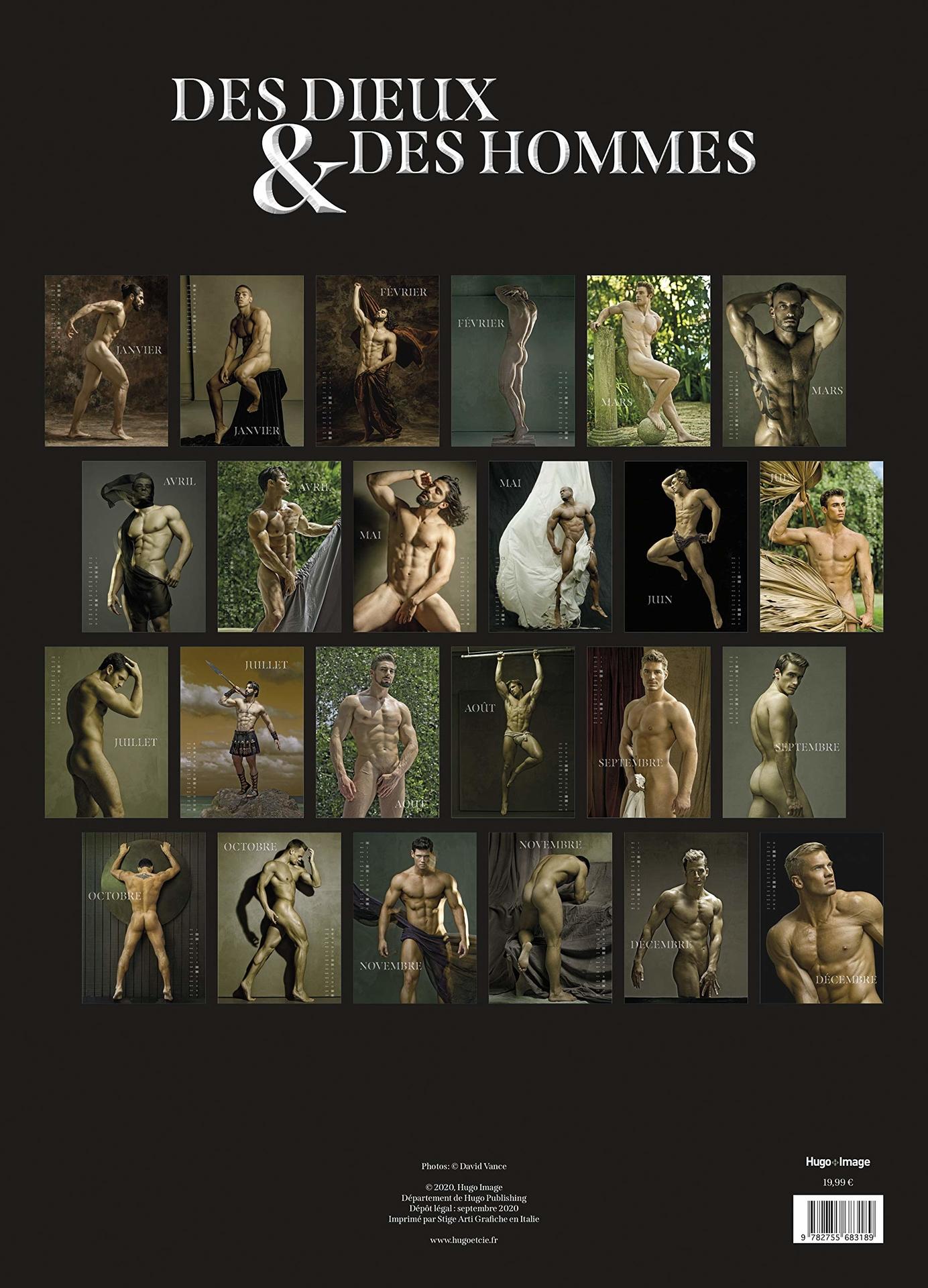 Calendrier mural Des dieux & des hommes 2021
