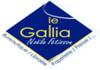 logo Snc Le Gallia - Rouge Papier